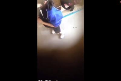 《盗撮》部室の屋根からクラスメイトの女子校生の着替えを盗撮ww