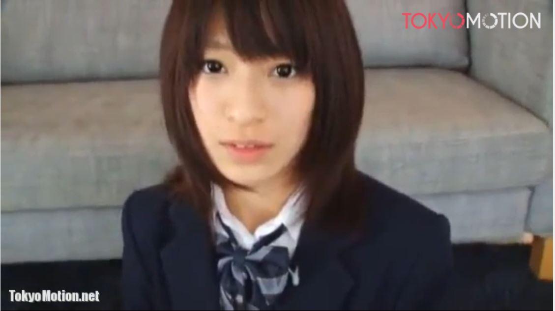 《超絶美少女JKフェラ抜き動画》『綺麗なお顔にザーメンぶっかけ!』かけられすぎて目が明かない女子校生♪