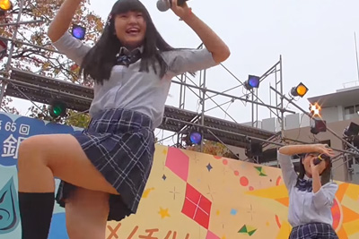 現役JKのムチムチ太ももが目の前で観れる文化祭って神イベントじゃね?