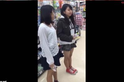 さすがに女子校生入学前のパンツを盗撮したらアカンwwww