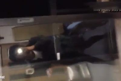 《個人撮影》ローターをマ●コに入れて立ってられない程悶える黒髪パッツン女子校生ww