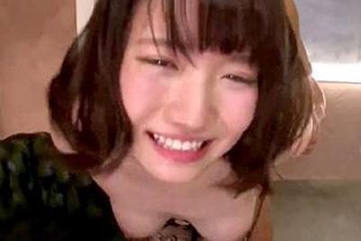 [今イッたばっかりなのぉにぃぃぃ!!!]アイドルクラスに可愛い子が膣を立ちバックで高速ピストン本気アクメ連発ファック!! 菊川みつ