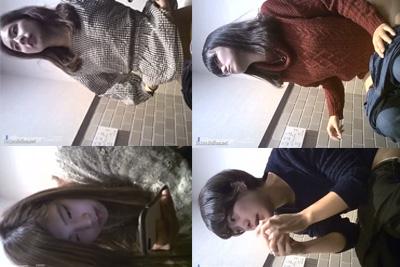 《トイレ 盗撮》撮影者が逮捕されたガチ盗撮 4人全員美女、美女、美女!!!可愛い女の子達がパンツをおろしておしっこ祭り♪