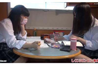 《天使のたまご 姉妹動画》可愛い女子校生友達連れてやってきた♪「試験近いから・・」勉強の後はハメ撮りHでリフレッシュww