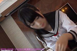 え..可愛いすぎるんだがww 乃〇坂 堀未央奈似の美少女と制服H♪「生気持ちぃ///」しかもセックス大好きかよww