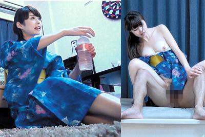 お祭りでナンパした美女を自宅に連れ込み着衣H♪はだけた浴衣から見える色白の肌のエロハンパねぇww