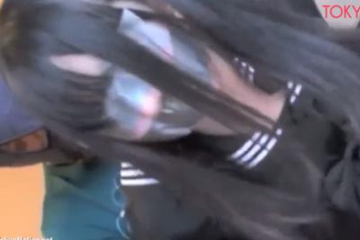 ※女子校生監禁強姦映像※ 犯罪の臭いが…。目と手をロープで塞ぎ嫌がる少女を撮影しながらレイプする【胸糞注意】