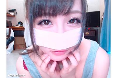 《ライブチャット》天使キター!ww 激カワチャトガが美乳モミモミカメラにマンコドアップクリオナニー♡