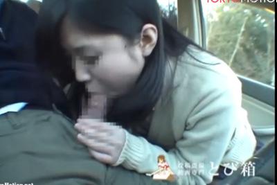 《天使のたまご 姉妹シリーズ》素人女子校生に車内フェラしてもらった円光動画を勝手に販売ww 最後は一滴残らずごっくんしてもらった♪