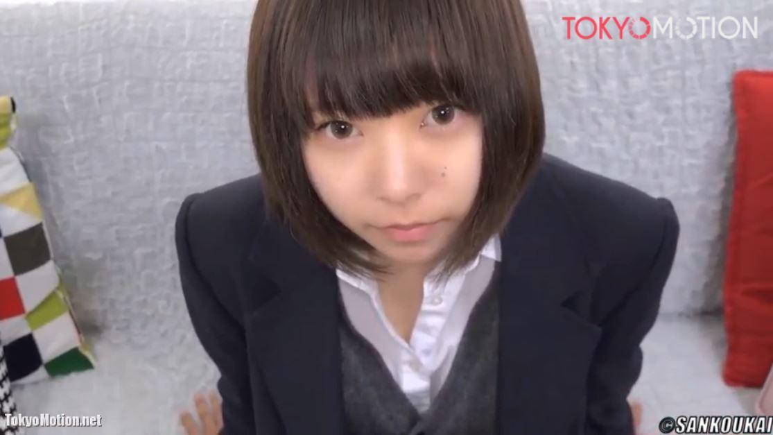 《女子校生リアルH動画》『あ~イク!あ~いっちゃう!』可愛い女子校生♡初めてのハメ撮り♪
